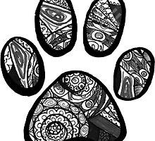 Tumblr Paw Print by emrapper