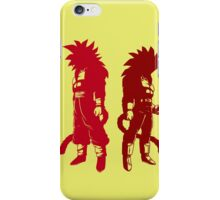 Two warriors. iPhone Case/Skin