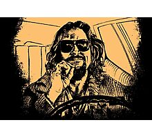 Big lebowski Orange Photographic Print