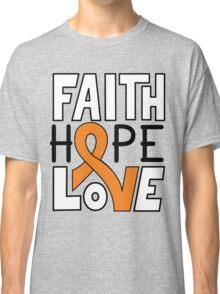 Faith Hope Love - Kidney Cancer Awareness Classic T-Shirt