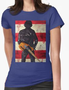 Bruce Springsteen Womens Fitted T-Shirt