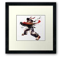 StreetFighter V - Ryu Framed Print