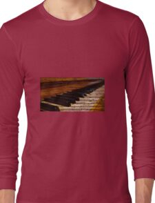 Piano and music Long Sleeve T-Shirt