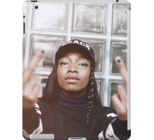 Little Simz Middle Fingers iPad Case/Skin