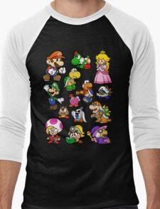 Paper Mario Collection Men's Baseball ¾ T-Shirt