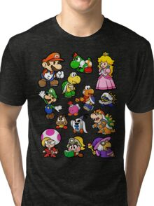 Paper Mario Collection Tri-blend T-Shirt