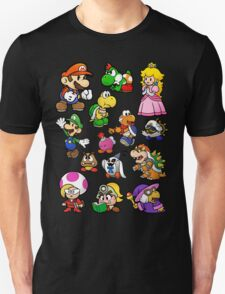 Paper Mario Collection Unisex T-Shirt