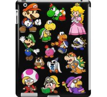 Paper Mario Collection iPad Case/Skin