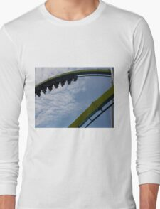 Fury 325 at Carowinds Roller Coaster Long Sleeve T-Shirt