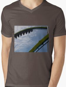 Fury 325 at Carowinds Roller Coaster Mens V-Neck T-Shirt