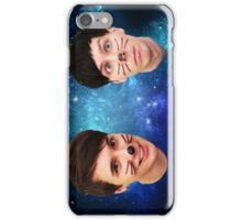 Dan & Phil in Space iPhone Case/Skin