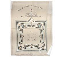 Civil War Maps 0383 Fort Anderson Paducah Ky 02 Poster