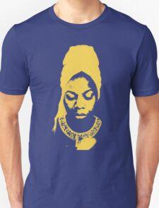 Nina Simone Yellow T-Shirt