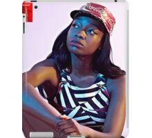 Little Simz Coca-Cola Hat iPad Case/Skin