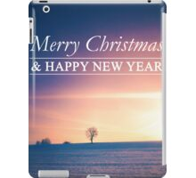 Postcard Winter Landscape I iPad Case/Skin