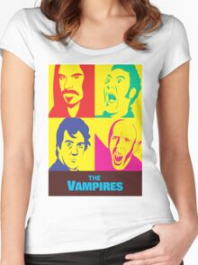 what we do in the shadows the vampires Women's Fitted Scoop T-Shirt