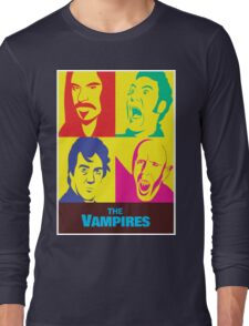 what we do in the shadows the vampires Long Sleeve T-Shirt