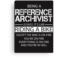 Reference Archivist Canvas Print