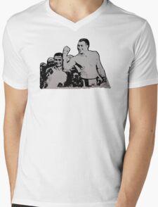 Winners Hour Mens V-Neck T-Shirt