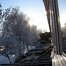 Snow Reflections Sunrise by BlueMoonRose