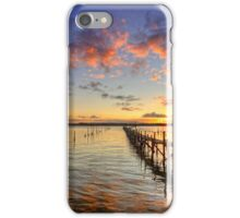 Sandbanks Little Pier ... iPhone Case/Skin