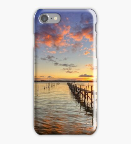 Sandbanks Little Pier ... iPhone Case/Skin
