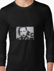 Marilyn Monsoe Long Sleeve T-Shirt