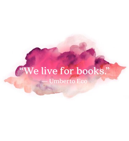 quote about books Sticker