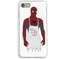 Kiss the Spidey Chef iPhone Case/Skin