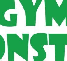 Gym Monster (Green) Sticker