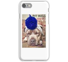 Pit Bull Love iPhone Case/Skin