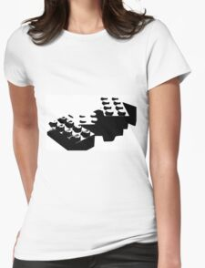 Lego Blocks Womens Fitted T-Shirt