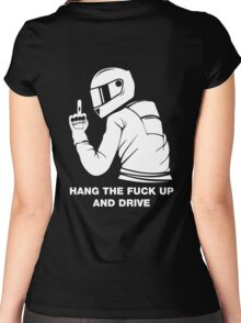 Hang The Fuck Up And Drive Women's Fitted Scoop T-Shirt