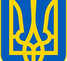 Coat of Arms of Ukraine  by abbeyz71
