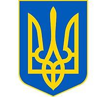 Coat of Arms of Ukraine  Photographic Print