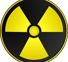 Radioactive Fallout Symbol - Geek Epic Gamer Nerd by nfisher