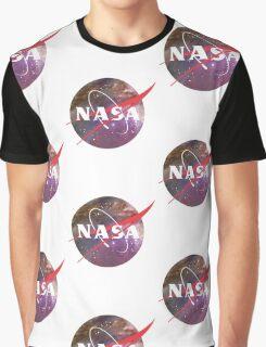 NASA NEBULA LOGO Graphic T-Shirt