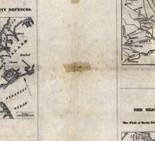 Civil War Maps 1909 War maps and diagrams 03 Sticker