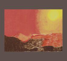 Sun Over Mountains Baby Tee