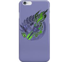 Brachydios Logo (Color) iPhone Case/Skin