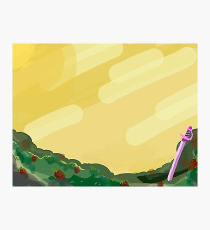 rose's scabbard  Photographic Print