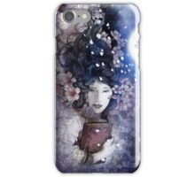 amdist the blossoms iPhone Case/Skin