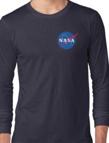 nasa sweatshirt blue Long Sleeve T-Shirt