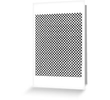 Scales Blanc Greeting Card