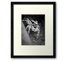©NS Colmillos IIA In Monochrome, Framed Print