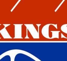 Kansas City Kings Sticker