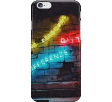 Love the Differences Neon Artwork iPhone Case/Skin