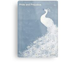 "Jane Austen ""Pride and Prejudice"" Metal Print"