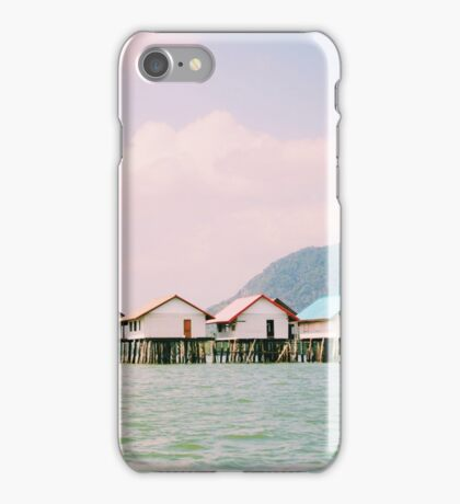 The Floating Village in Thailand iPhone Case/Skin