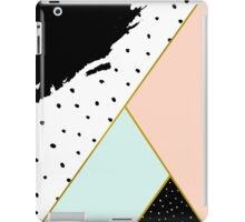 Abstract Geometric Composition iPad Case/Skin